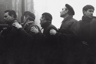 Ai funerali delle vittime della strage alla Banca dell'Agricoltura, Milano