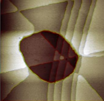 79_oro Dalla serie Blow up. Immagini dal Nanomondo
