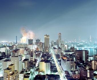 Odaiba's fireworks - Tokyo