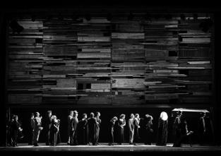 Jannis Kounellis – Funerale, sd