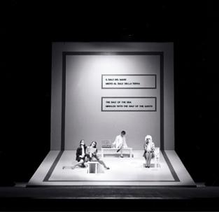 Lawrence Weiner, Teatro Malibran Venezia